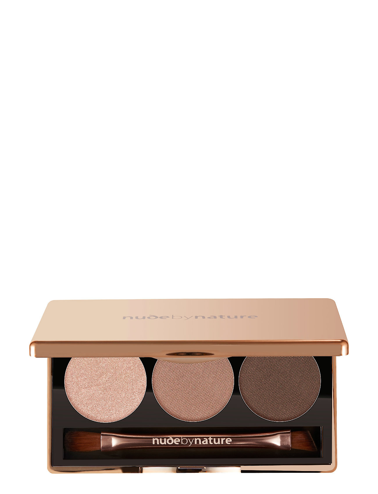 Image of Trio Eyeshadow 01 Nude Beauty WOMEN Makeup Eyes Eyeshadow Palettes Creme Nude By Nature (3430495911)