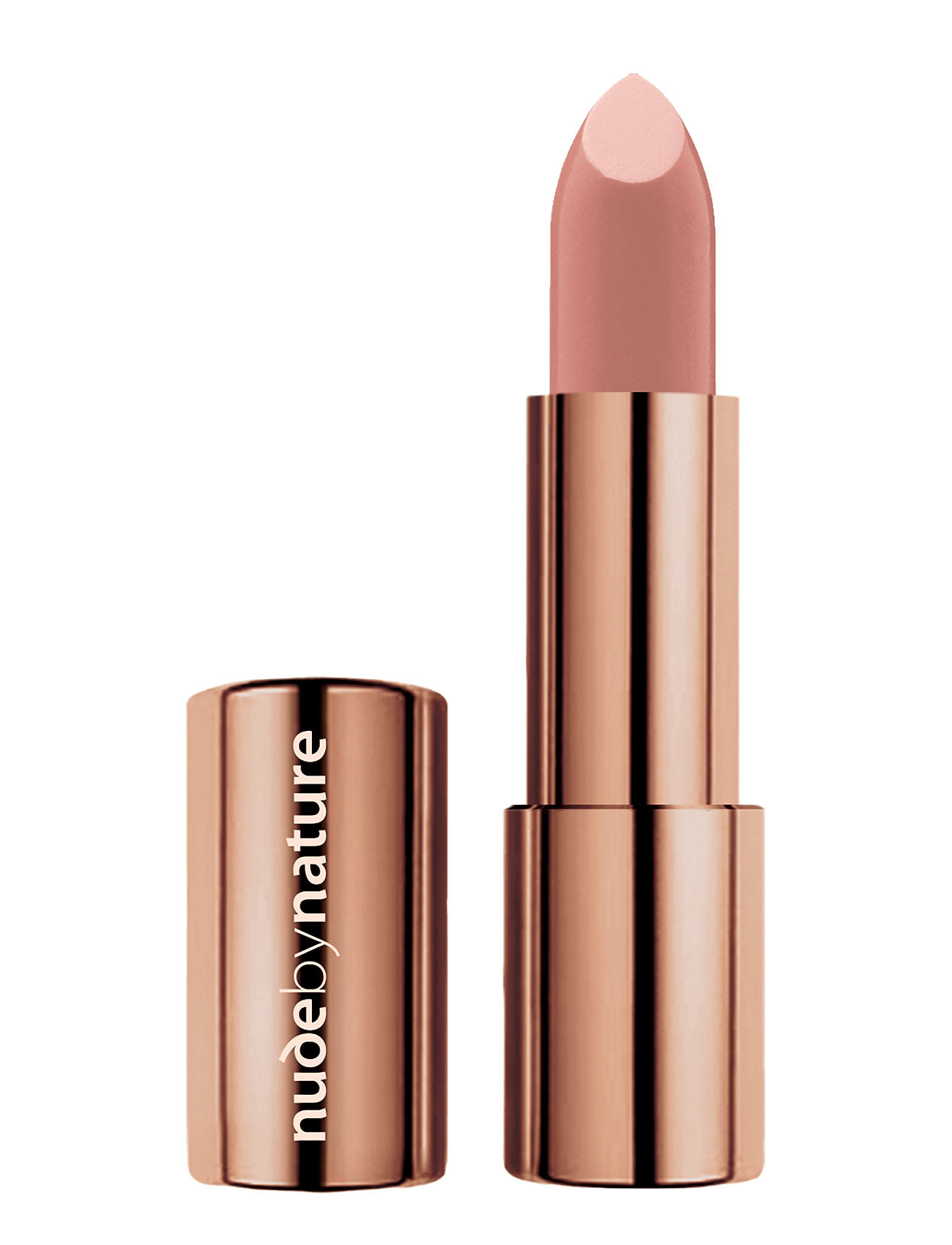 Image of Moisture Shine Lipstick Nude 02 Læbestift Makeup Nude By Nature (3406158443)