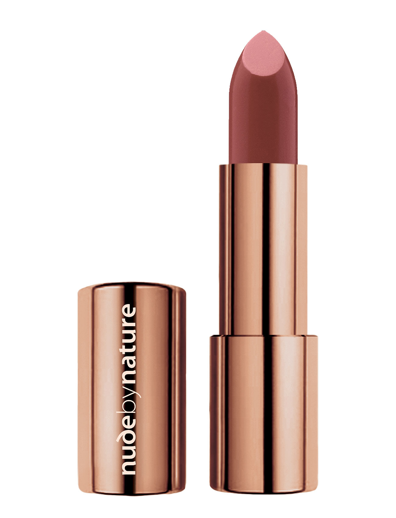 Image of Moisture Shine Lipstick Dusky Nude 06 Læbestift Makeup Nude By Nature (3430427481)