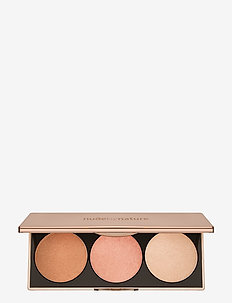 COUNTOURING & HIGHLIGHTING HIGHLIGHT PALETTE BRONZE - BRONZE/ROSE/CHAMPAGNE