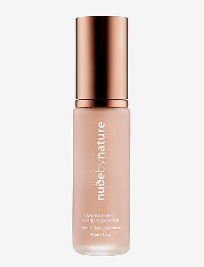 LUMINOUS SHEER LIQUID FOUNDATION W1 ROSE BEIGE - foundation - w1 rose beige