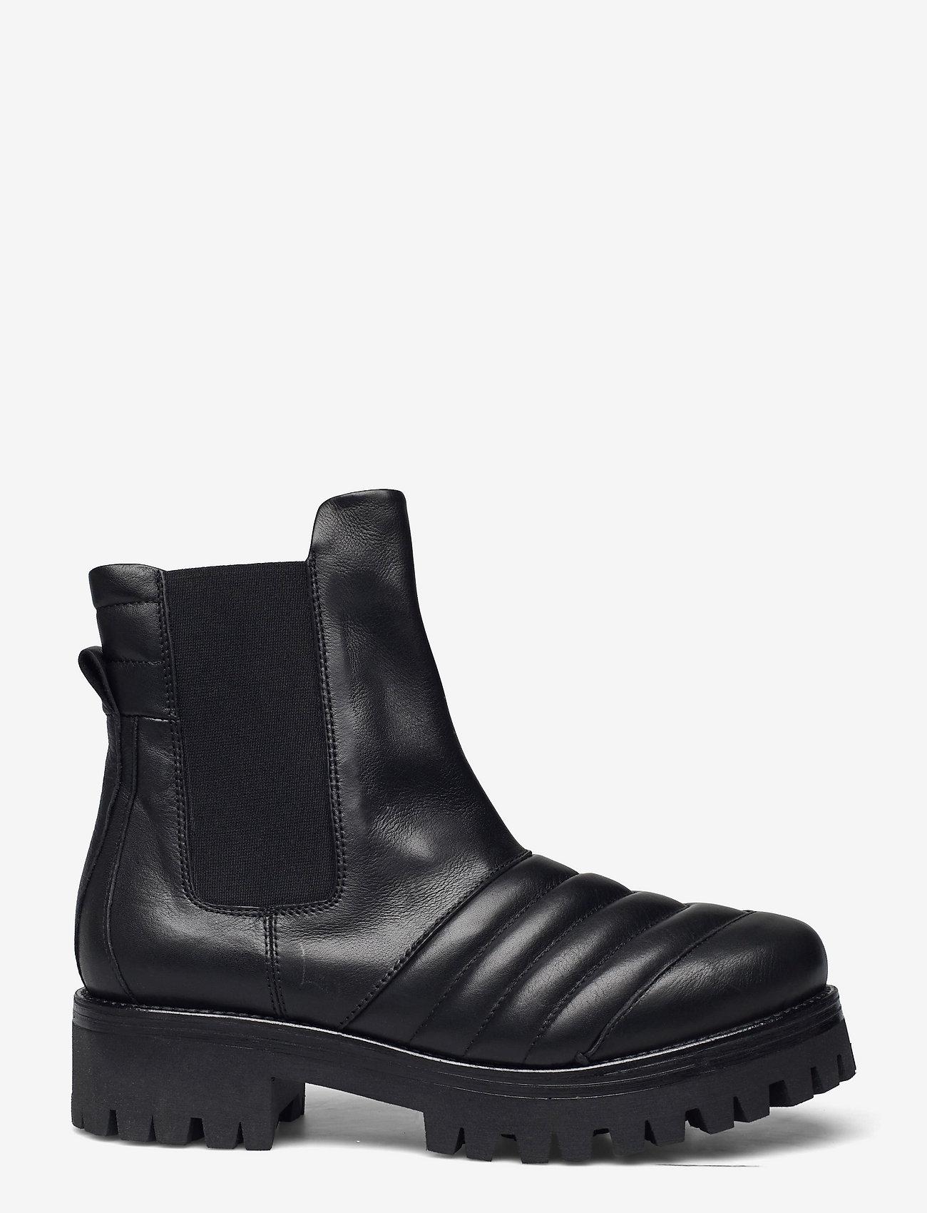 Nude of Scandinavia - IGGY - chelsea boots - kips / nero - 1
