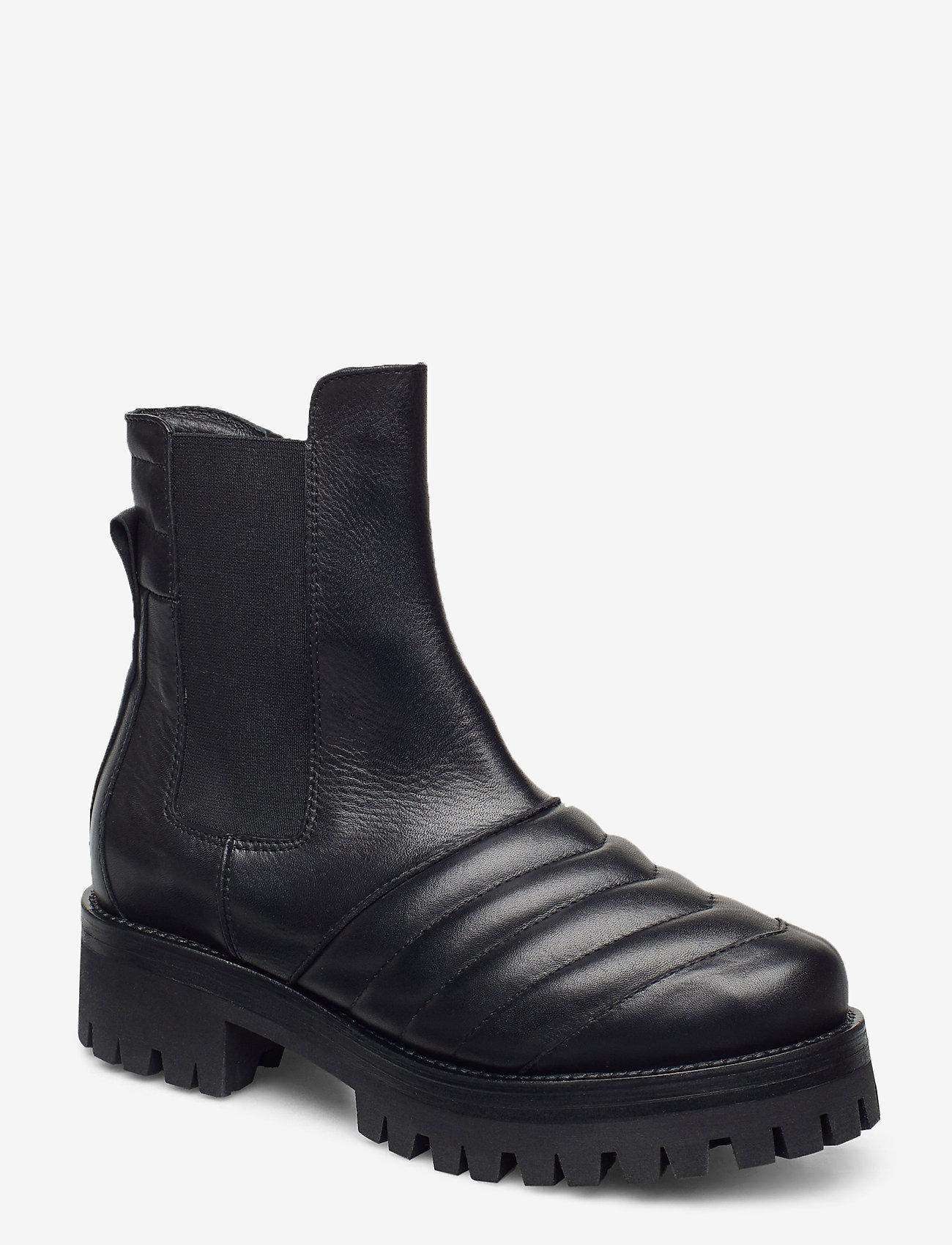 Nude of Scandinavia - IGGY - chelsea boots - savana/nero - 0