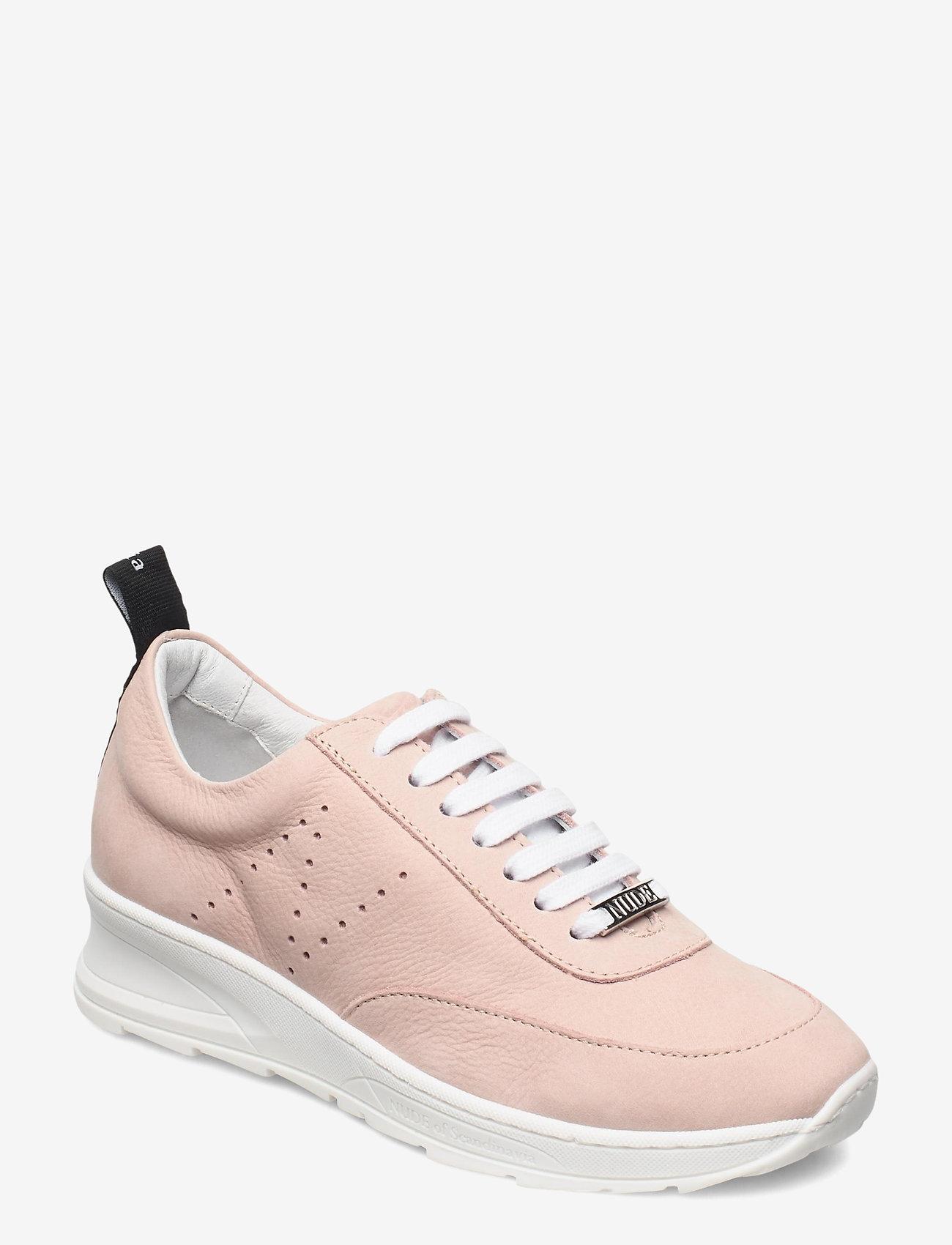 Nude of Scandinavia - PEGGY - låga sneakers - longbeach / silver pink - 0