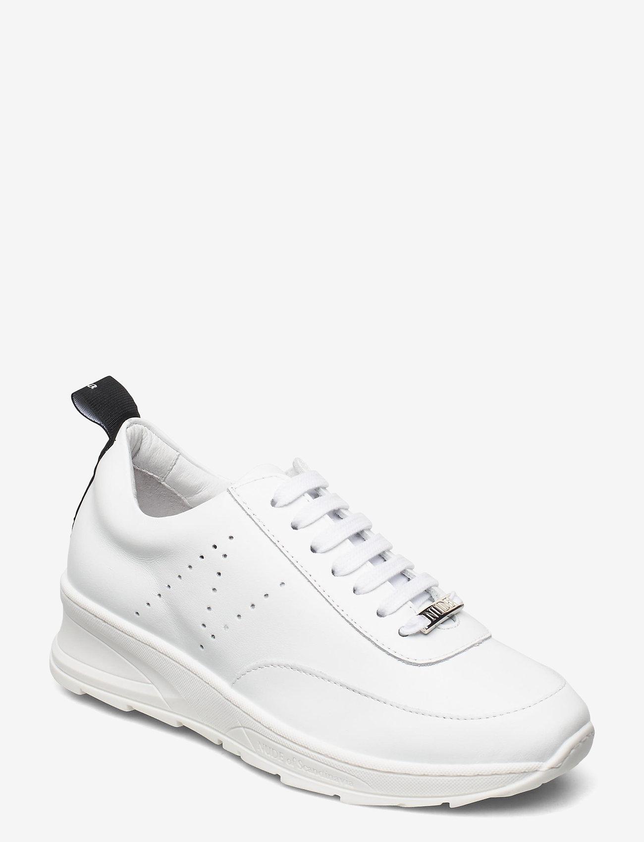 Nude of Scandinavia - PEGGY - låga sneakers - softy / bianco - 0