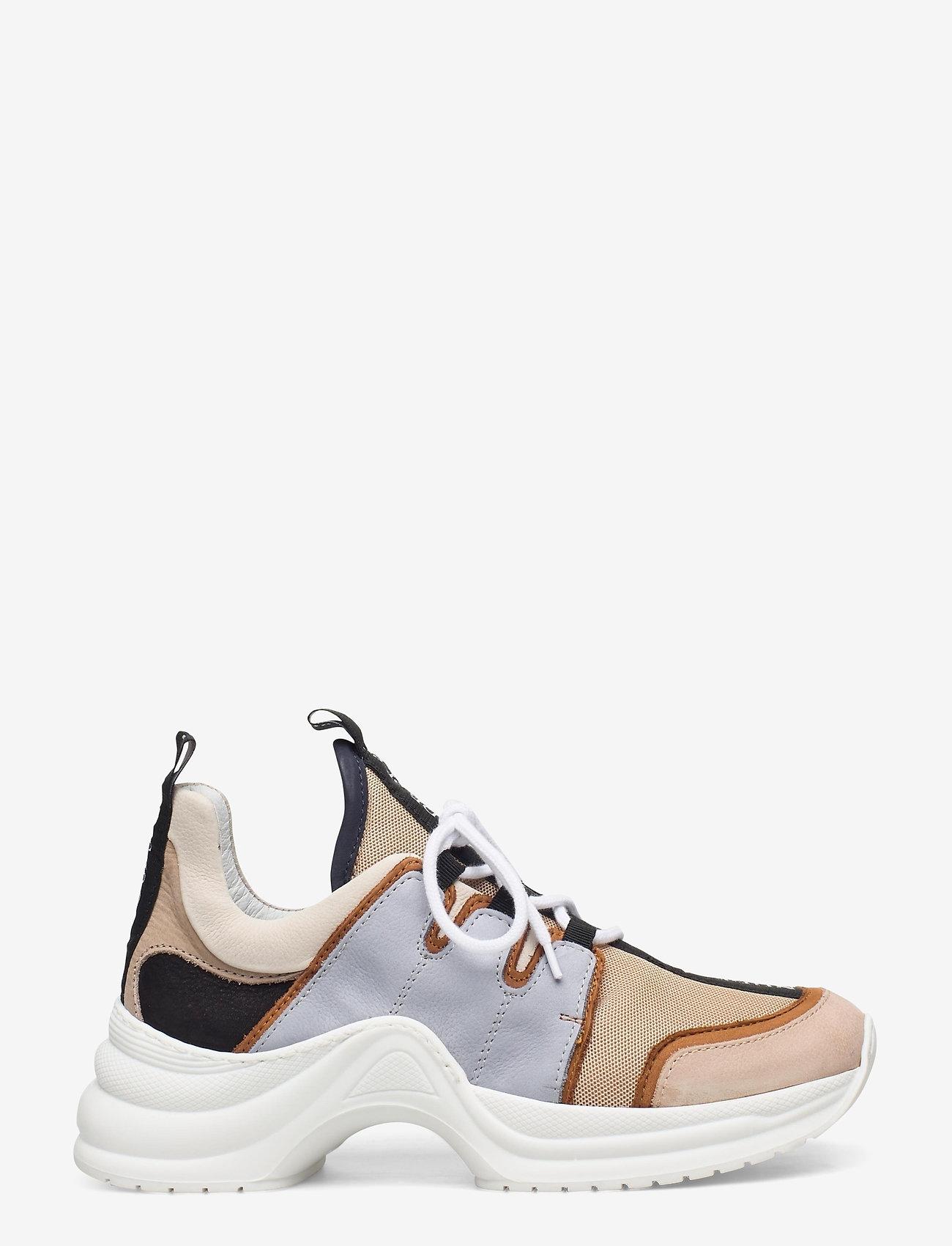 Nude of Scandinavia - JOY - chunky sneakers - mix / polvere - 1