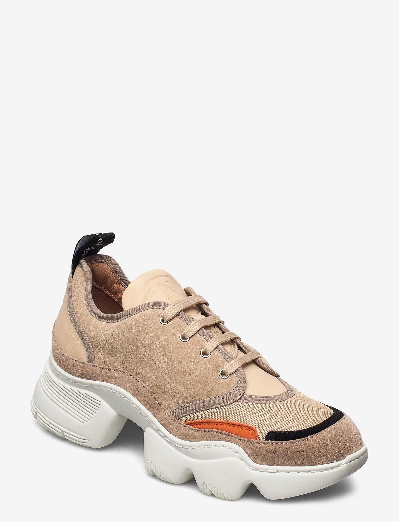 Nude of Scandinavia - SIBYL - chunky sneakers - mix / beige - 0