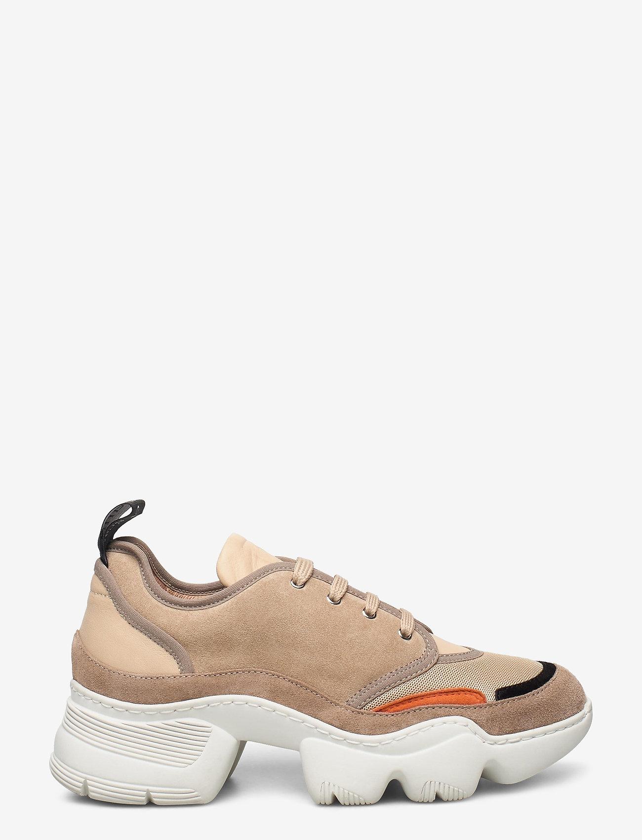 Nude of Scandinavia - SIBYL - chunky sneakers - mix / beige - 1