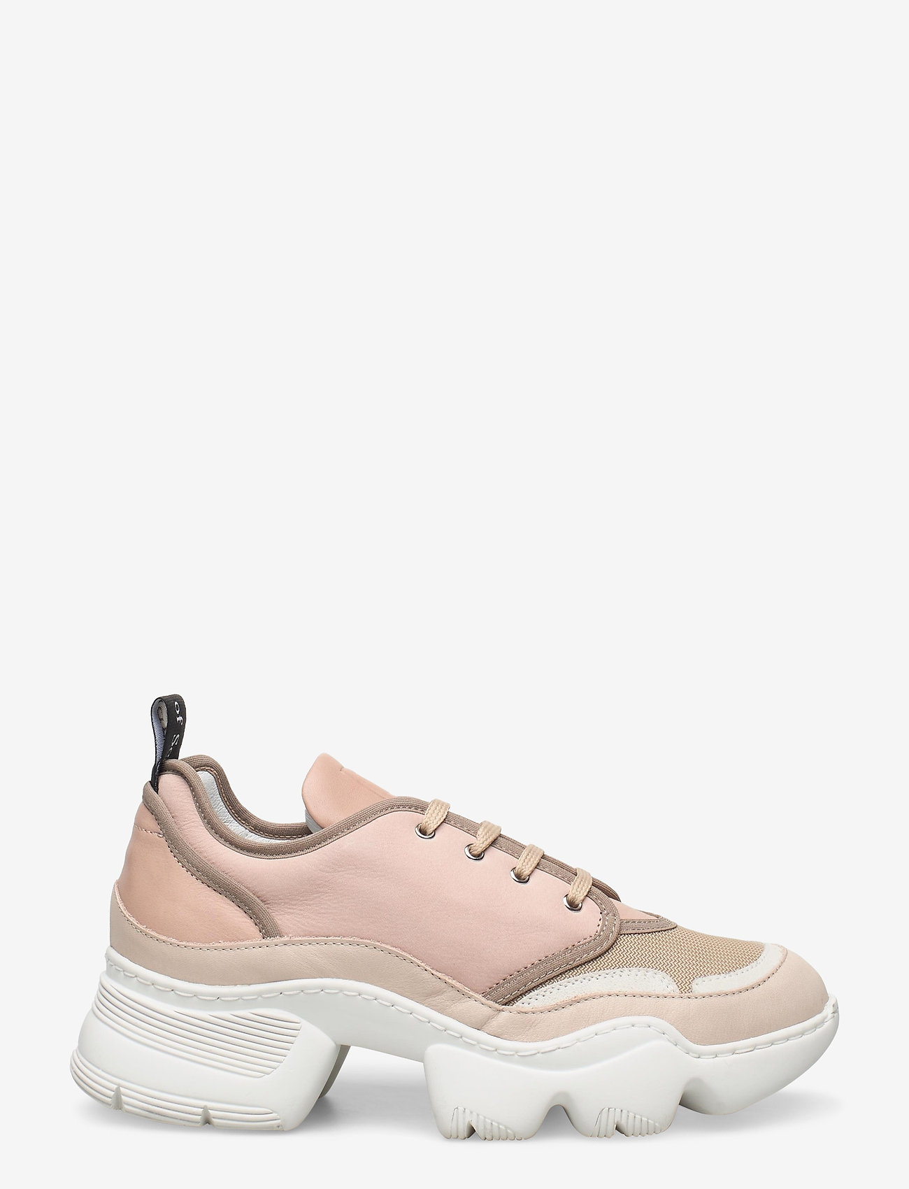 Nude of Scandinavia - SIBYL - chunky sneakers - mix / silver pink - 1