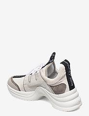 Nude of Scandinavia - JOY - chunky sneakers - mix / latte - 2