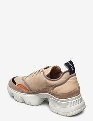 Nude of Scandinavia - SIBYL - chunky sneakers - mix / beige - 2