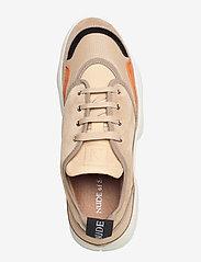 Nude of Scandinavia - SIBYL - chunky sneakers - mix / beige - 3