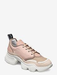 Nude of Scandinavia - SIBYL - chunky sneakers - mix / silver pink - 0