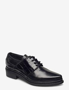 KATE - buty sznurowane - tequila-cocco/nero