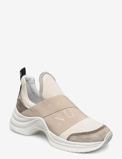 JOY - chunky sneakers - mix / latte