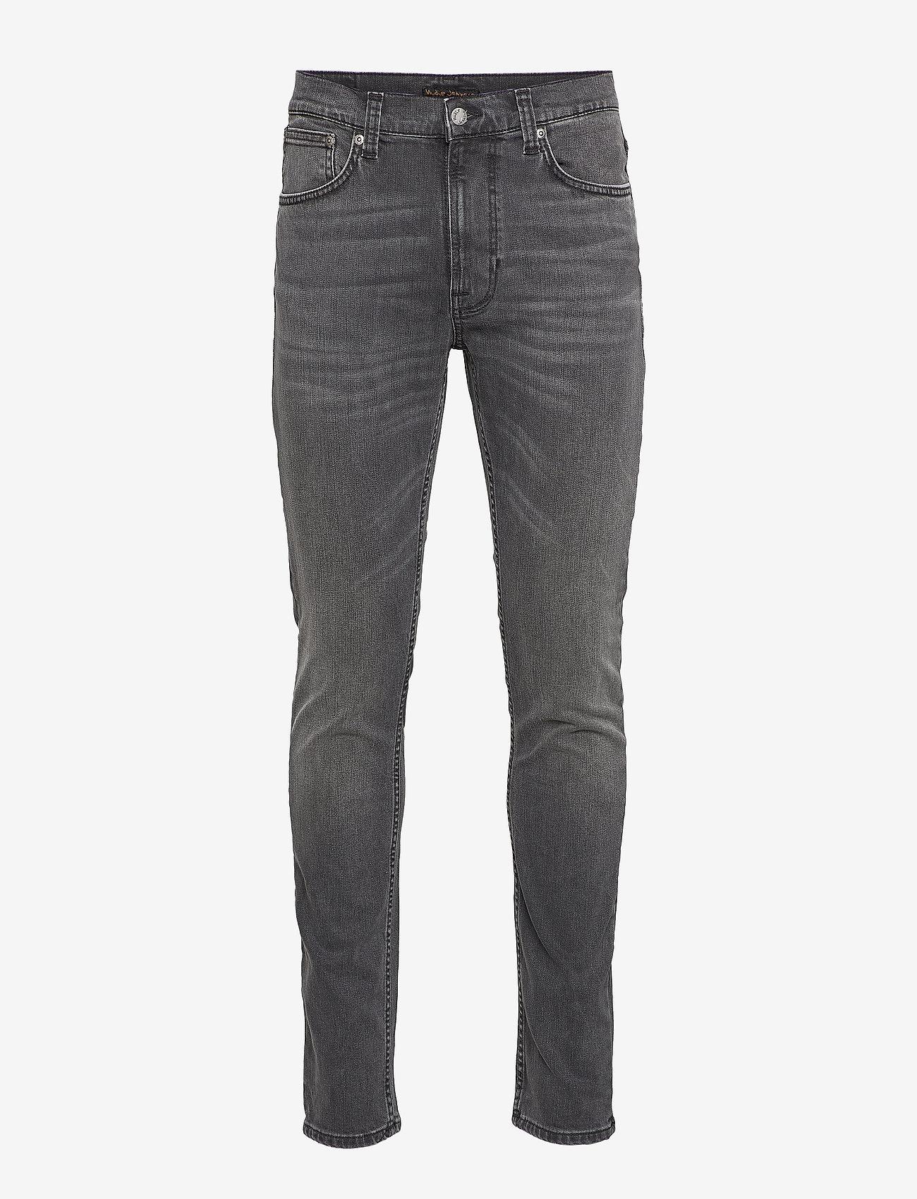 Nudie Jeans - Lean Dean - slim jeans - mono grey - 1