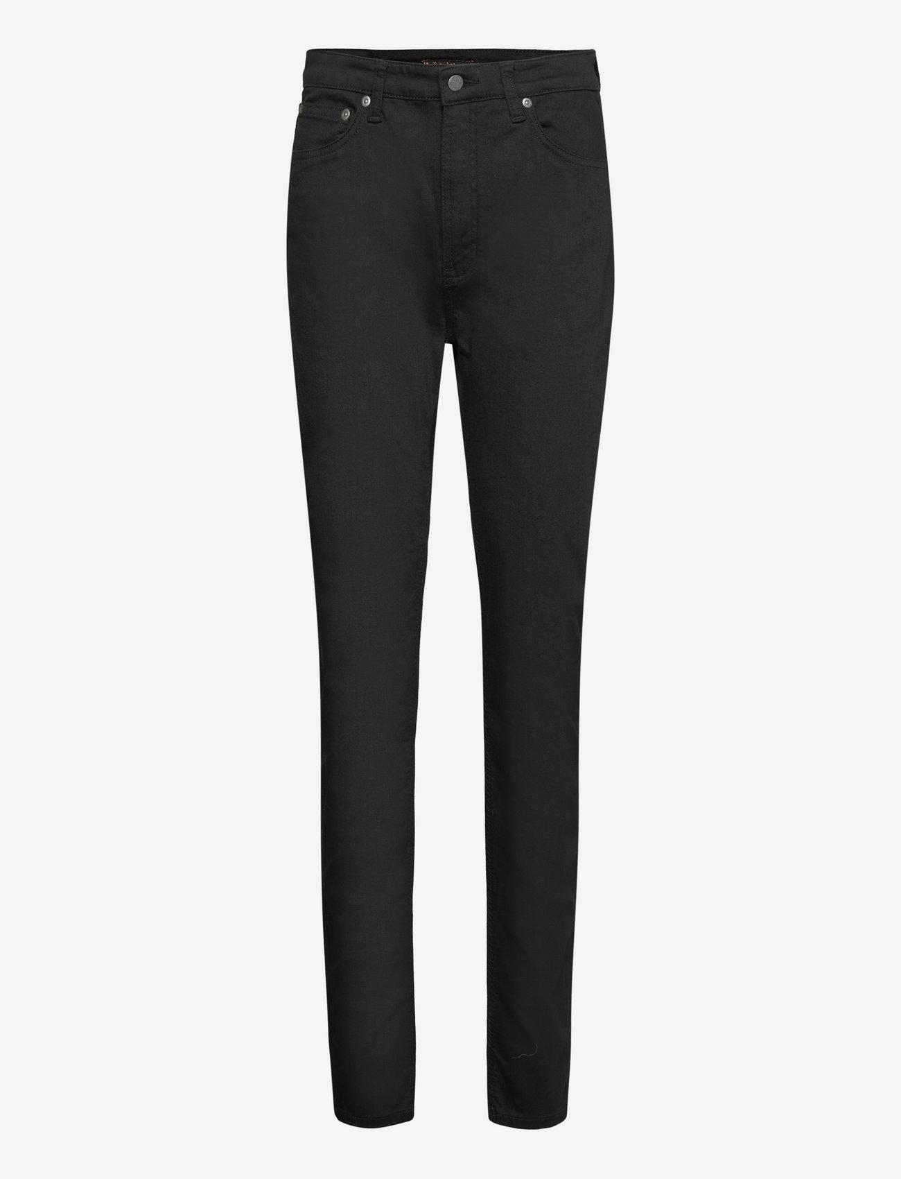 Nudie Jeans - Hightop Tilde - slim jeans - everblack - 0