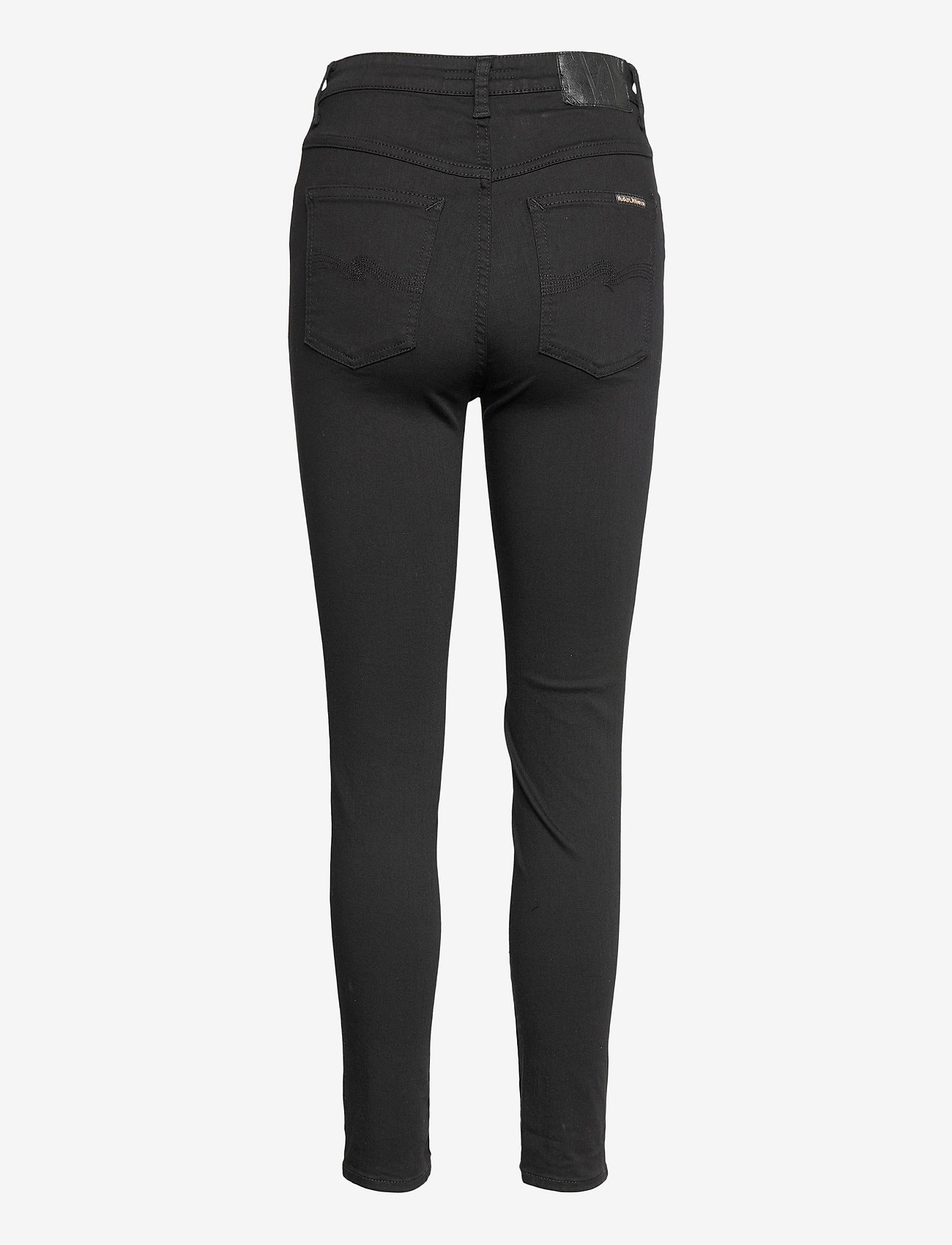 Nudie Jeans - Hightop Tilde - slim jeans - everblack - 1