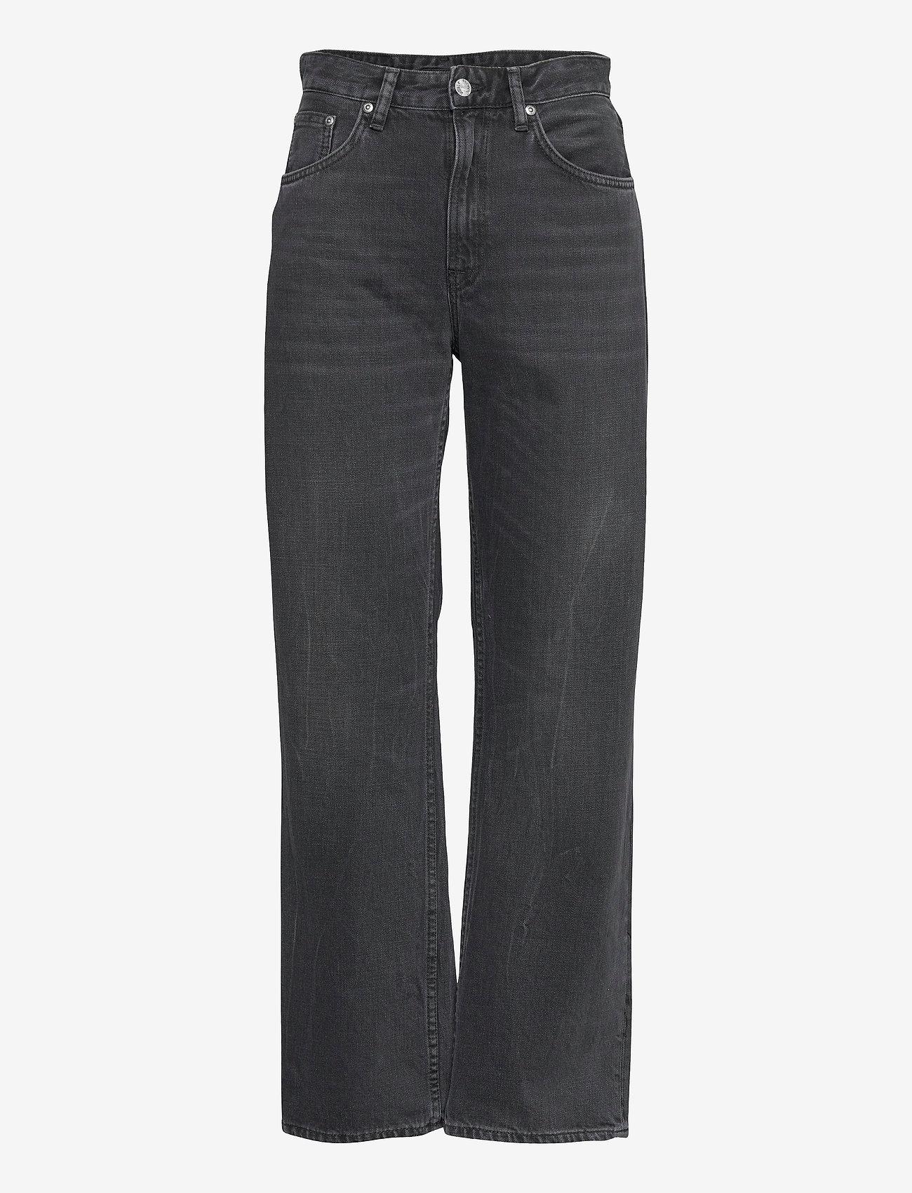 Nudie Jeans - Clean Eileen - straight regular - shimmering black - 1