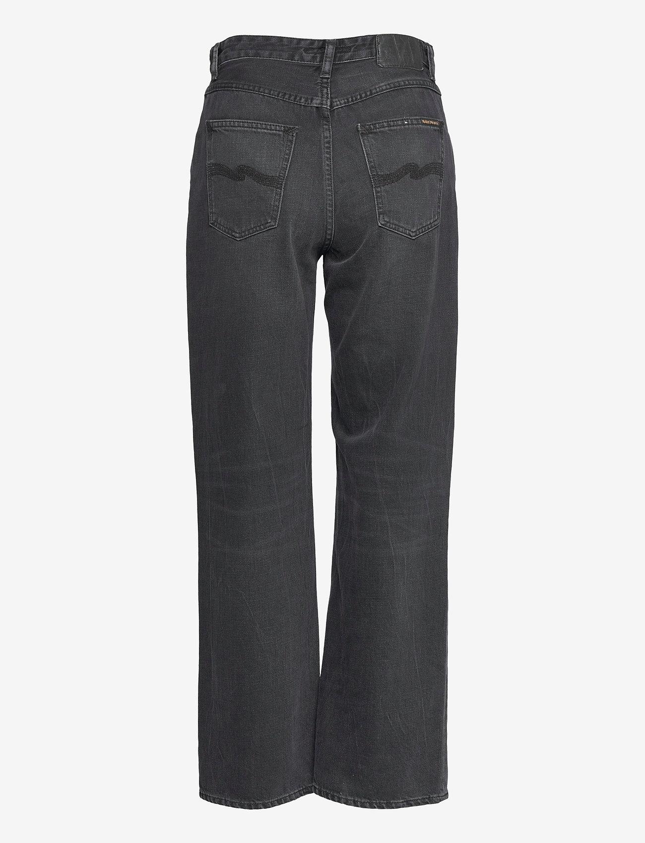 Nudie Jeans - Clean Eileen - straight regular - shimmering black - 2