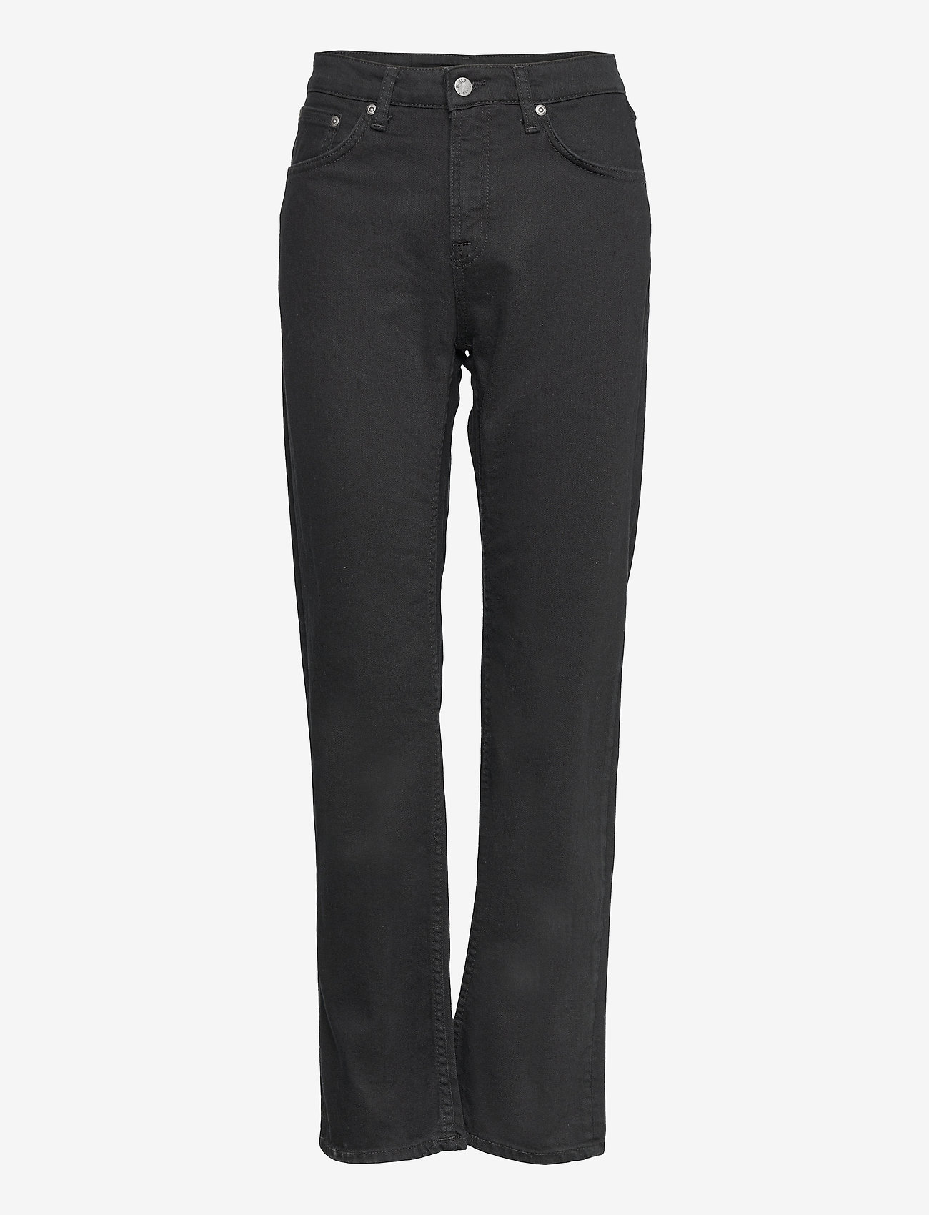 Nudie Jeans - Straight Sally - straight regular - everblack - 0