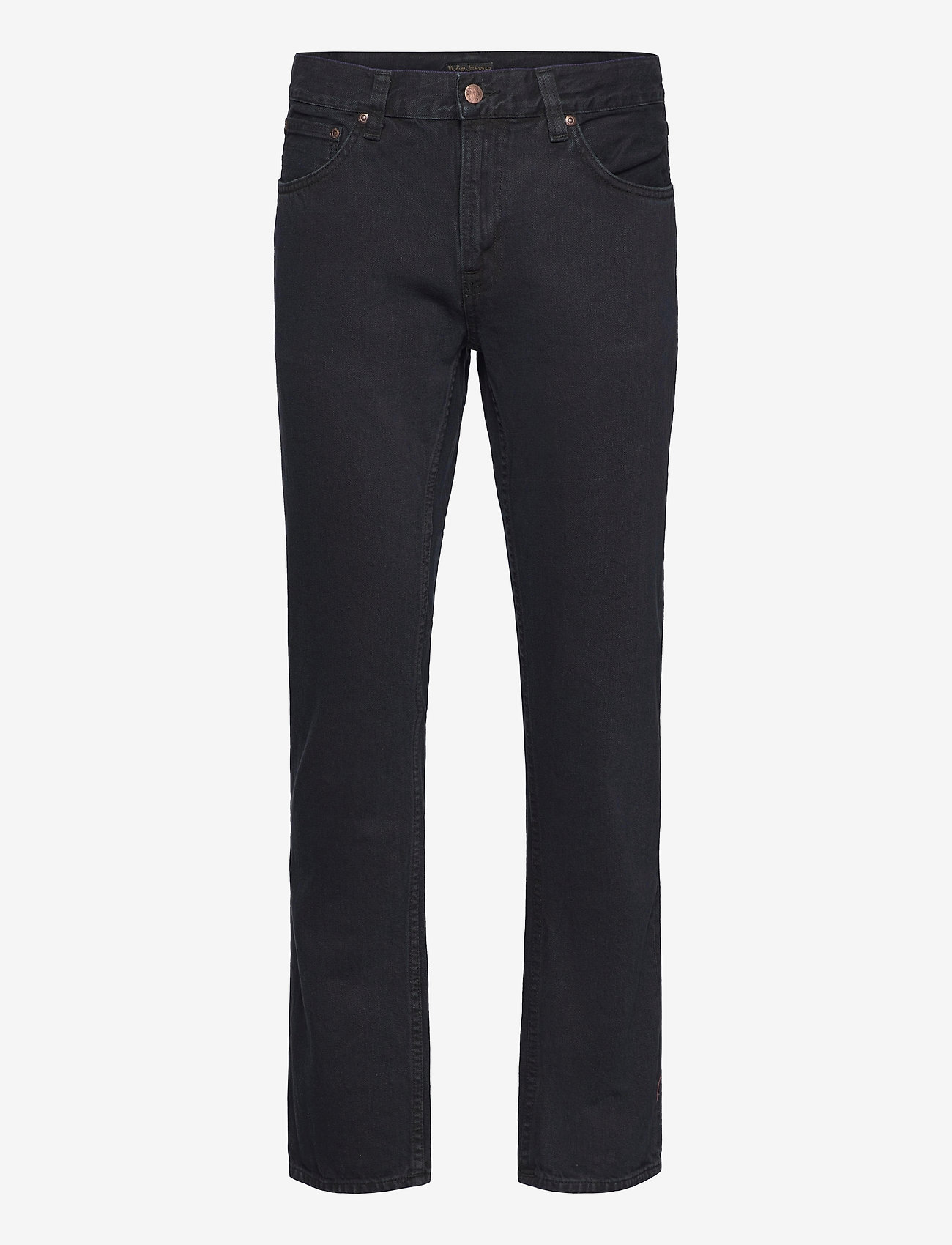 Nudie Jeans - Gritty Jackson - regular jeans - black forest - 0