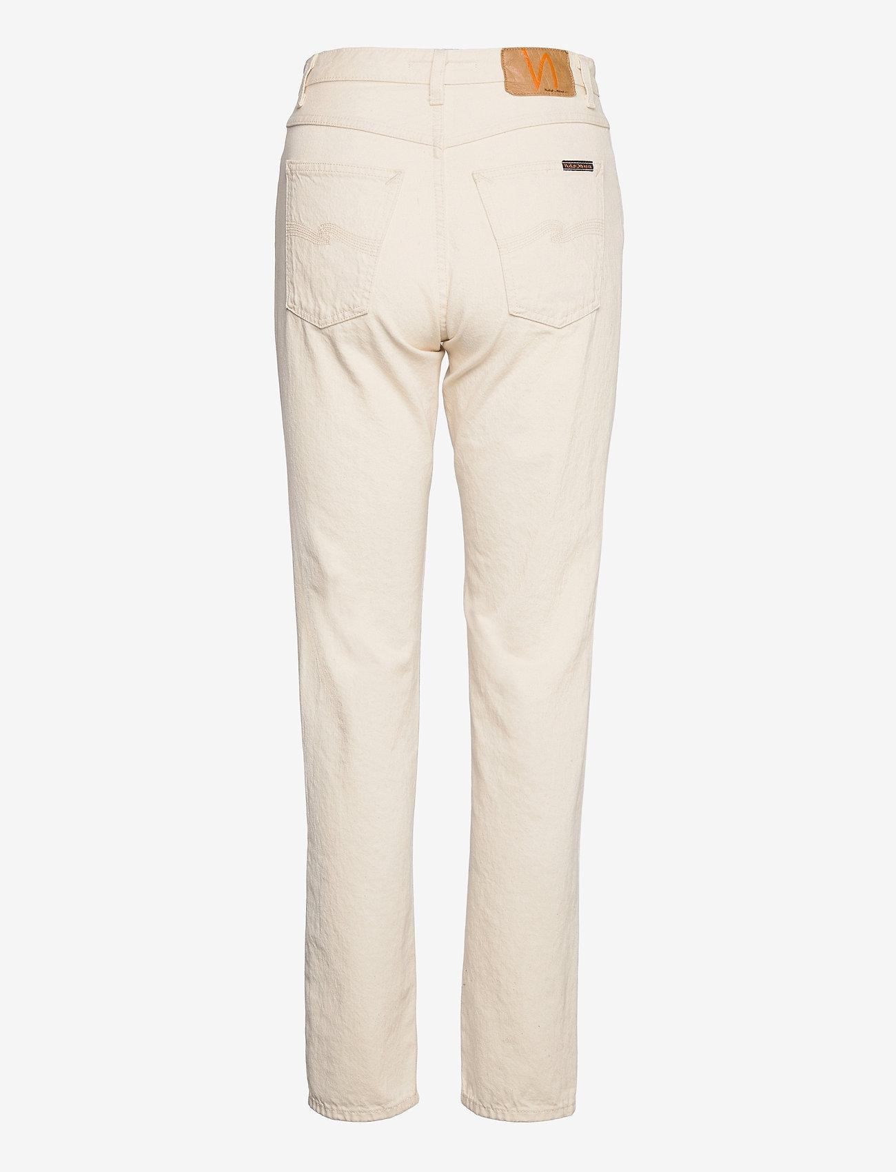 Nudie Jeans - Breezy Britt - straight regular - dusty white - 2