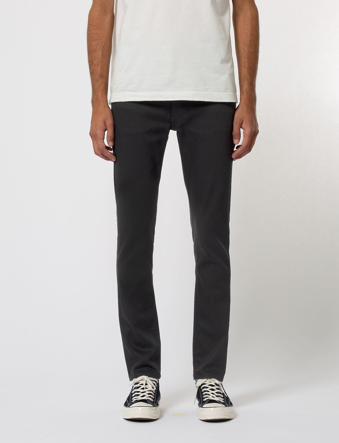Nudie Jeans - Lean Dean - slim jeans - dry ever black - 0
