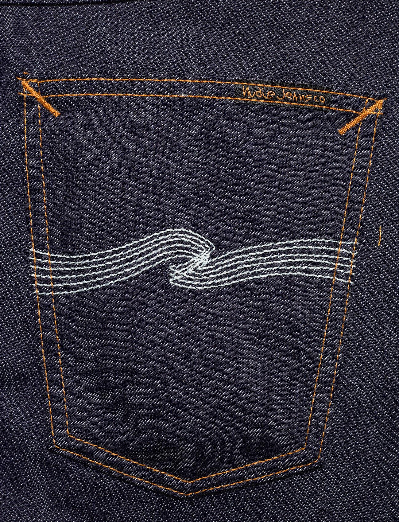 Nudie Jeans - Lean Dean - slim jeans - dry ecru embo - 4
