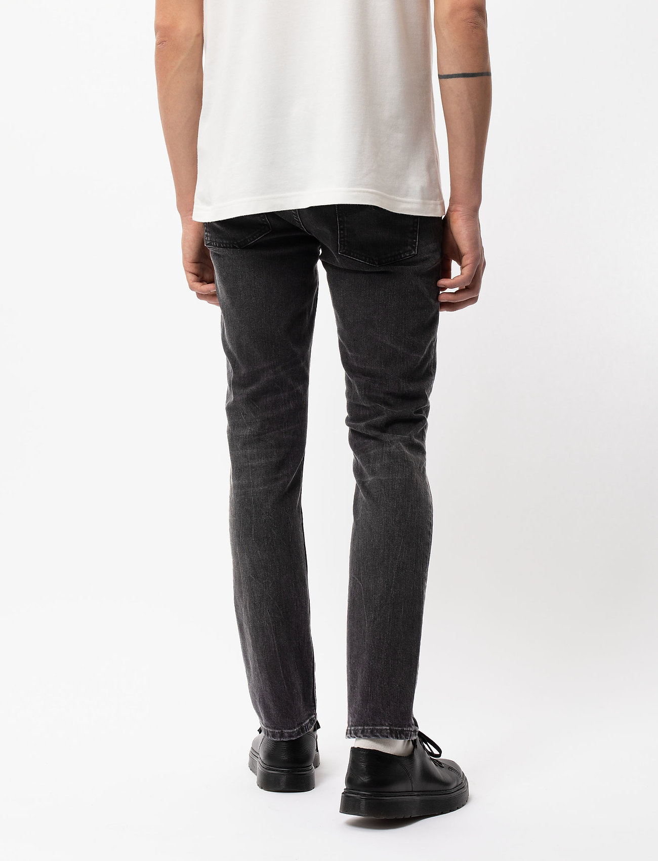 Nudie Jeans - Lean Dean - slim jeans - mono grey - 3