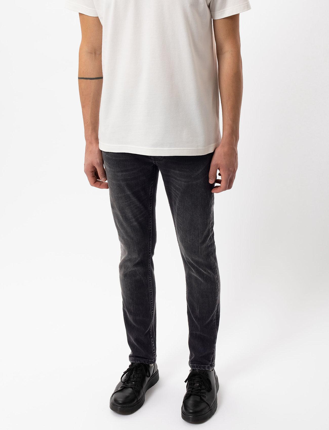Nudie Jeans - Lean Dean - slim jeans - mono grey - 5