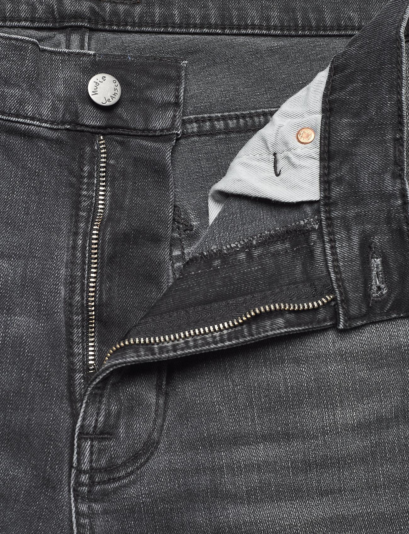 Nudie Jeans - Lean Dean - slim jeans - mono grey - 6