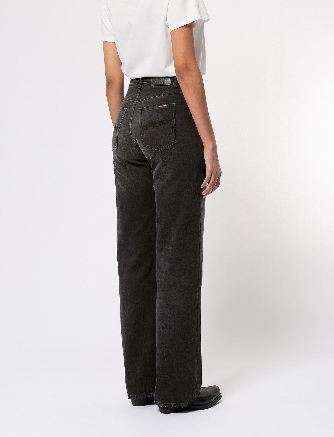 Nudie Jeans - Clean Eileen - straight regular - shimmering black - 5