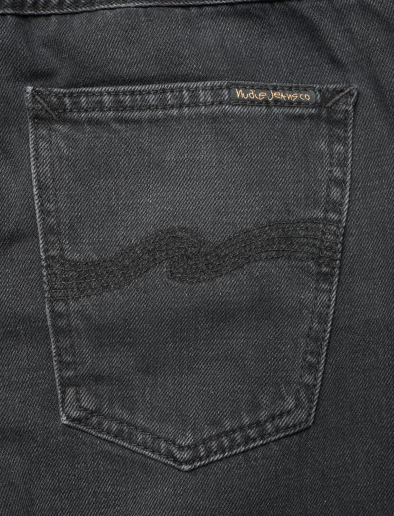 Nudie Jeans - Clean Eileen - straight regular - shimmering black - 6