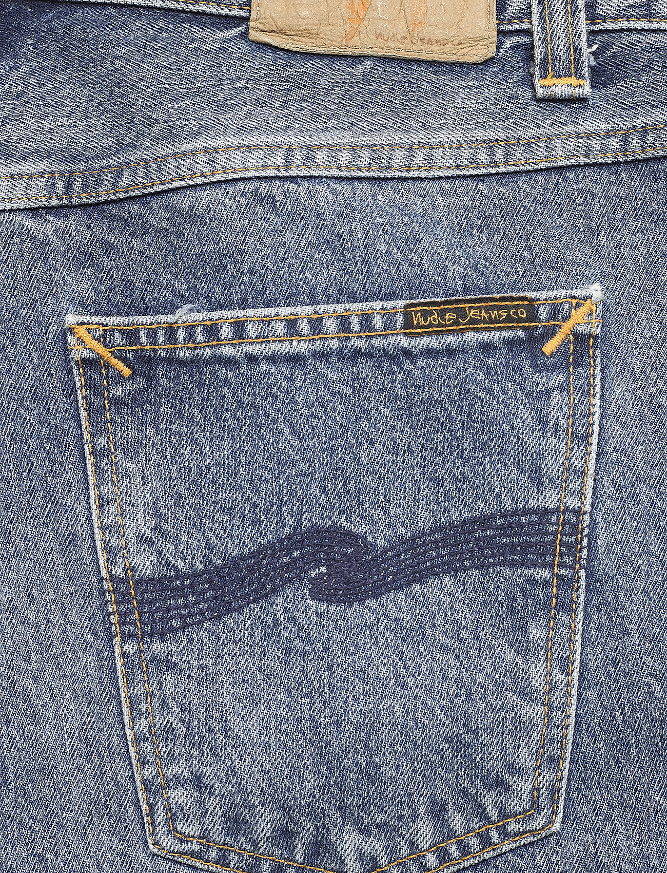 Nudie Jeans - Gritty Jackson - regular jeans - old gold - 4