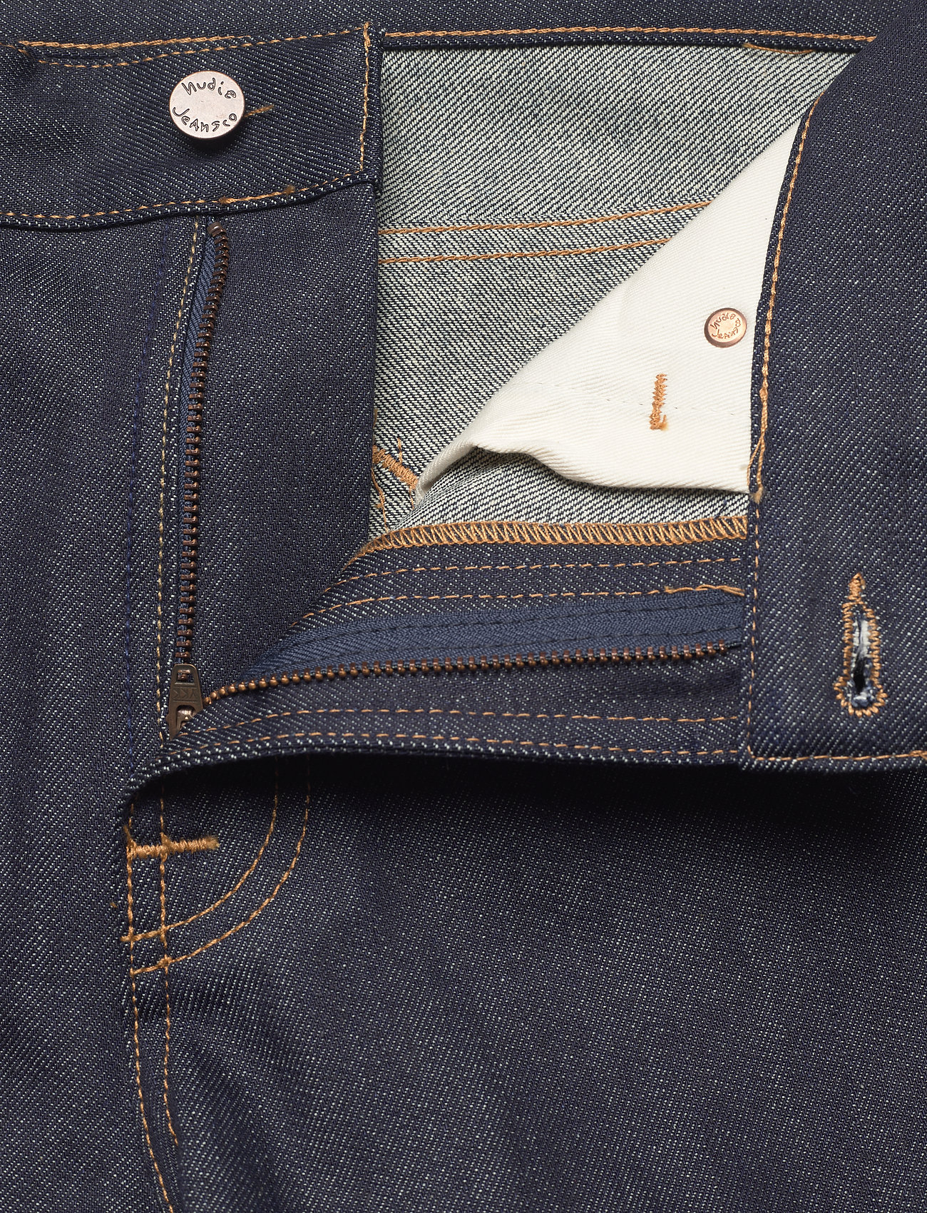 Nudie Jeans - Gritty Jackson - regular jeans - dry classic navy - 3
