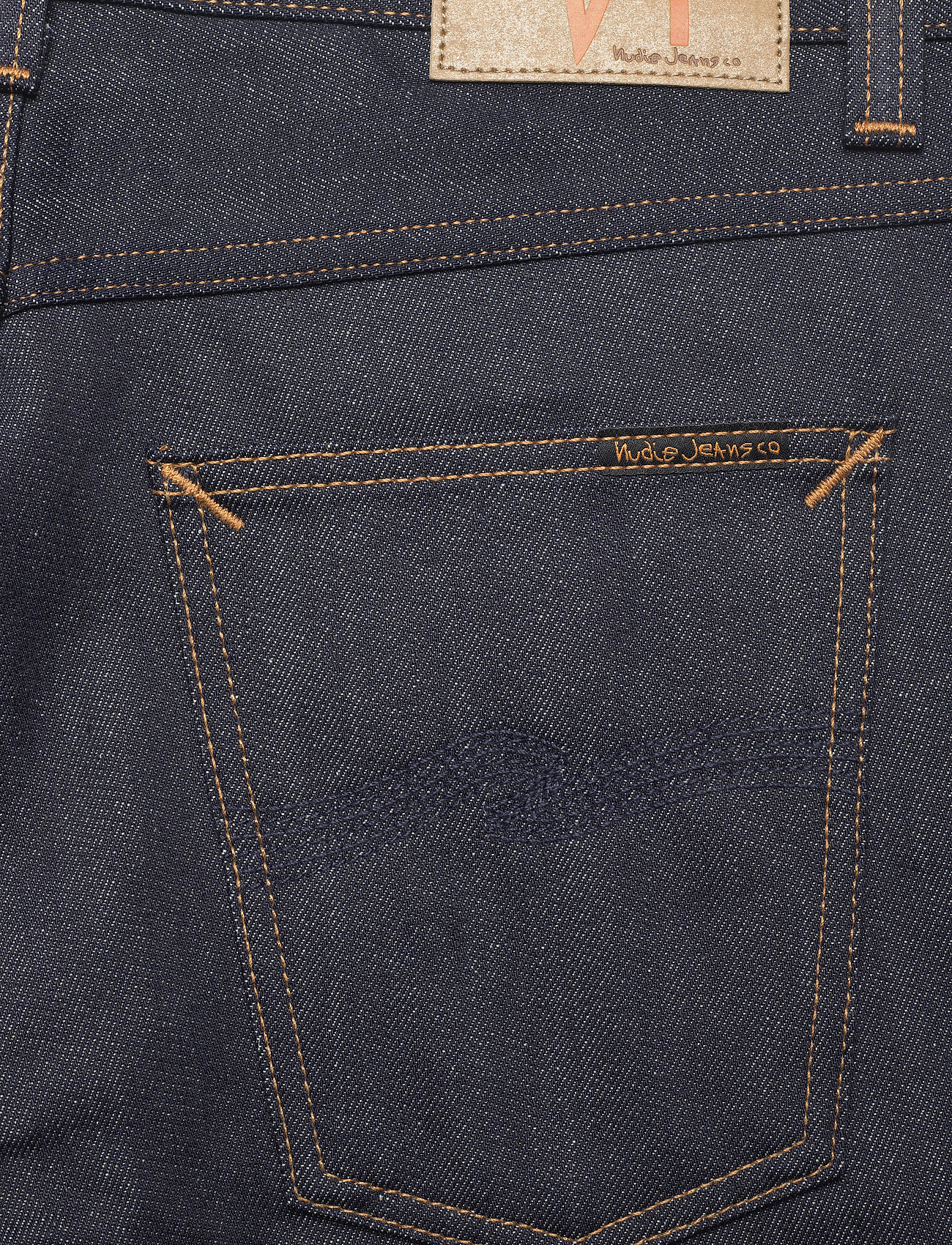Nudie Jeans - Gritty Jackson - regular jeans - dry classic navy - 4