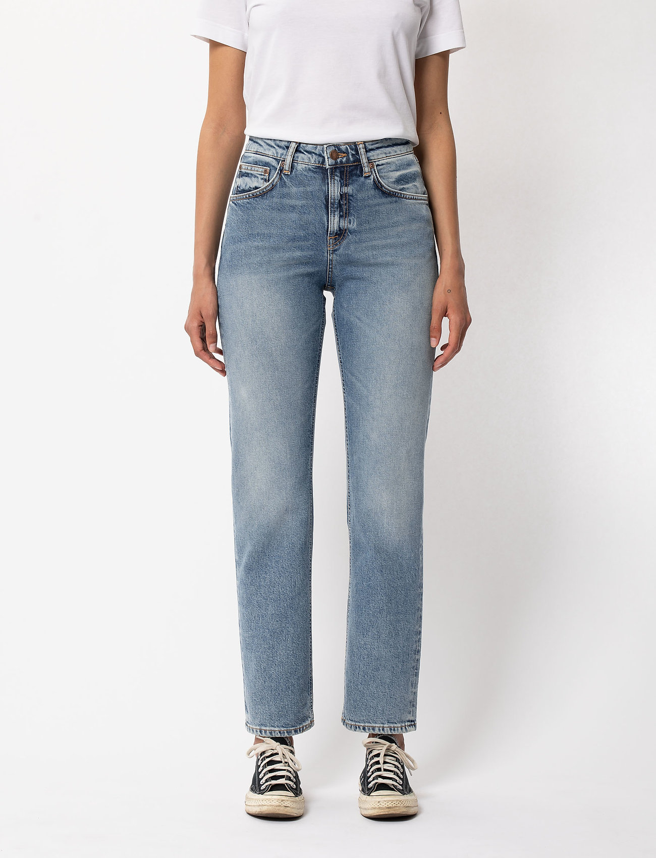 Nudie Jeans - Straight Sally - straight regular - loving twill - 0