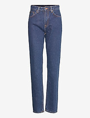 Nudie Jeans - Breezy Britt - straight regular - dark stellar - 1