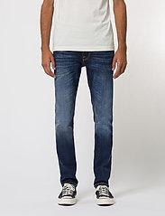 Nudie Jeans - Lean Dean - slim jeans - dark deep worn - 0