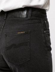 Nudie Jeans - Clean Eileen - straight regular - shimmering black - 8