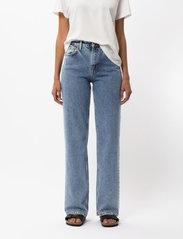 Nudie Jeans - Clean Eileen - straight regular - gentle fade - 0