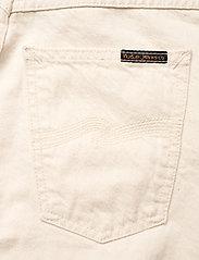 Nudie Jeans - Breezy Britt - straight regular - dusty white - 7