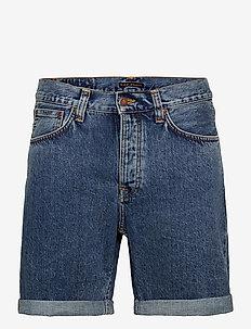 Josh Shorts - denim shorts - dusty white