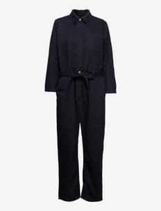 Sophie Boiler Suit - klær - wool wish denim