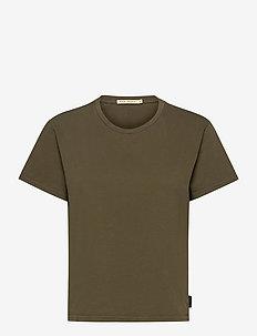 Lisa Tee - t-shirts - army
