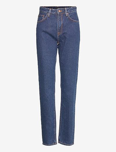 Breezy Britt - straight jeans - dark stellar
