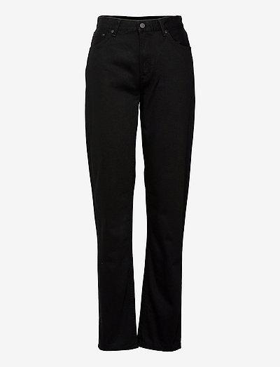 Lofty Lo - straight jeans - black soul