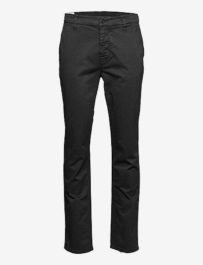 Easy Alvin - pantalons chino - black