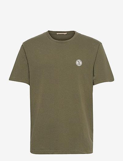 Uno NJCO Circle - t-shirts basiques - olive